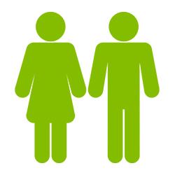 Zwei Personen